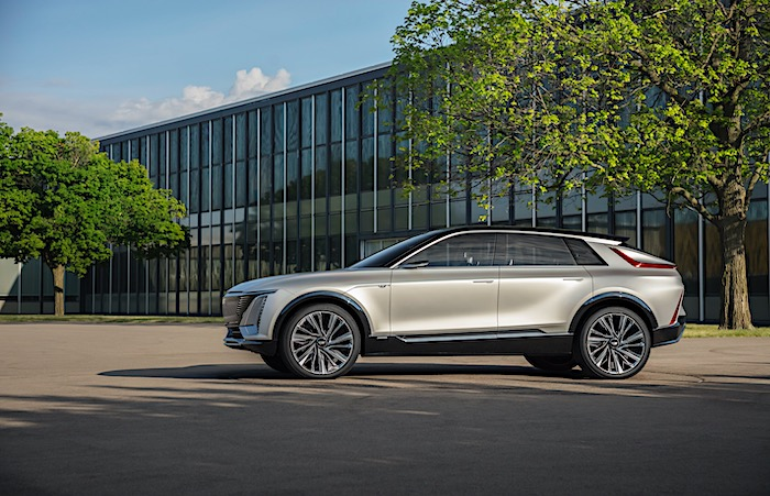 凯迪拉克首款纯电动SUV发布:基于通用BEV3平台制造,将率先投放中国市场
