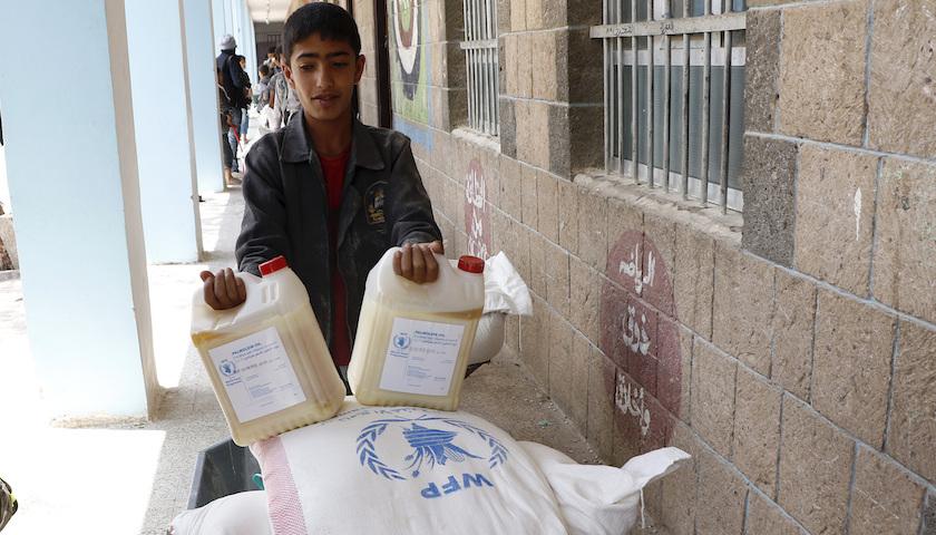 世界粮食计划署获诺贝尔和平奖,疫情下全球3亿人等待粮食援助插图1