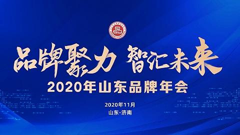 """""""品牌聚力 智汇未来""""2020年山东品牌年会"""