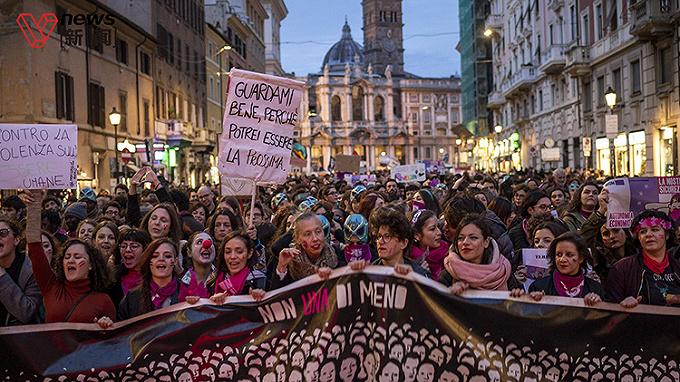 國際消除對婦女暴力日:疫情封城下,全球多地家暴案激增引憂慮