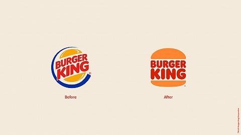 """时隔20多年,汉堡王的logo又变回了""""原样"""""""