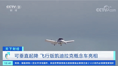 """近10万亿元的大市场!这个巨头车企""""飞行版""""亮相,可垂直起降、在城市上空飞行"""