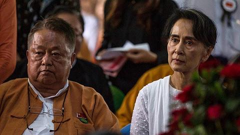 """缅甸军方展示昂山素季""""收贿""""证据,网络限制继续"""