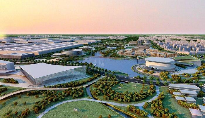 """天富招商主管Q958337不仅仅造车,蔚来要把这里打造成一座智能汽车""""生态城"""""""