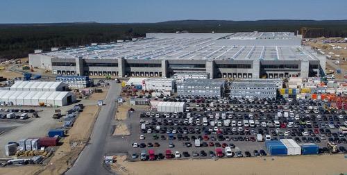 特斯拉德国工厂两度延期,最早2022年初完工