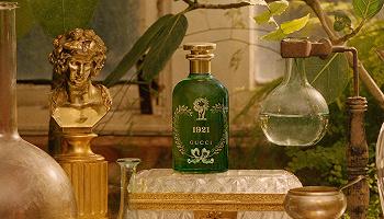 Gucci炼金士花园1921香水,斯伯丁水晶碎片篮球丨是日美好事物
