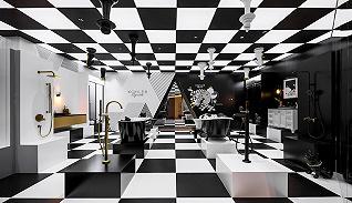 在设计上海2021,科勒带来黑白金三色的未来之家 | 设计澳门金沙电玩城①