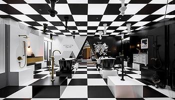 在设计上海2021,科勒带来黑白金三色的未来之家 | 设计生活①