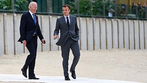 拜登访欧获英法领导人肯定,马克龙:美国回来了