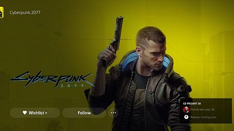 《賽博朋克2077》重新回歸索尼游戲商店,開發商CD Projekt股價大漲