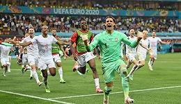欧洲杯早报 | 疯狂一夜西班牙5-3晋级,姆巴佩失点法国爆冷出局