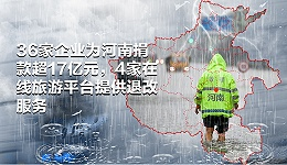 数据 | 36家企业为河南捐款超17亿元,4家在线旅游平台提供退改服务