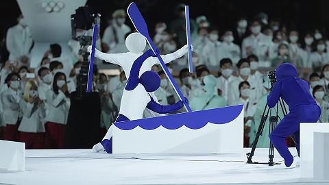"""全場最佳!東京奧運會開幕式用""""超級變變變""""演繹比賽項目圖標"""