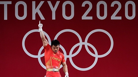 """中国军团   谌利军上演""""绝杀""""破奥运纪录,代表团再度日进三金"""