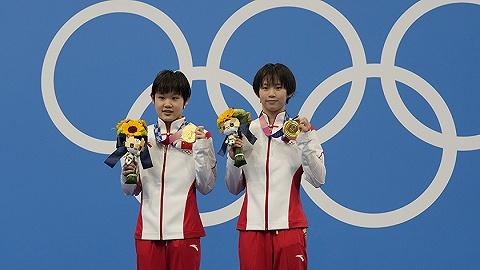 中国军团   陈芋汐/张家齐奥运首秀夺金,女子双人10米台实现六连冠