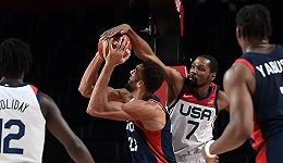 """美国男篮""""复仇""""法国,第16次夺得奥运金牌"""