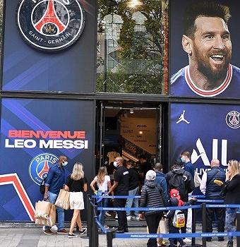 """""""梅西效应"""":大巴黎场外收益惊人,转会市场大乱或促成""""梅罗合璧"""""""