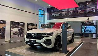 大众进口汽车首家智能展厅长什么样,我们为你体验了一番 | 2021成都车展