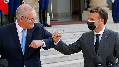 """惹怒法国后:约翰逊展开""""爱的轰炸"""",澳洲不让步"""