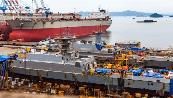 欧亿3首页中国船企接单量重回全球第一