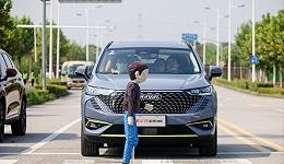 我们在仿真道路上试了试第三代哈弗H6的辅助驾驶 试驾
