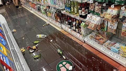 东京都经历十年来震感最强地震,多地水管爆裂