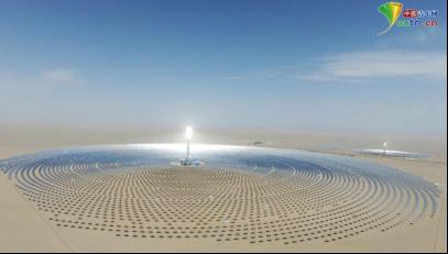 华信娱乐代理【续写丝路新篇章】在甘肃,见证神奇的太阳能热发电!