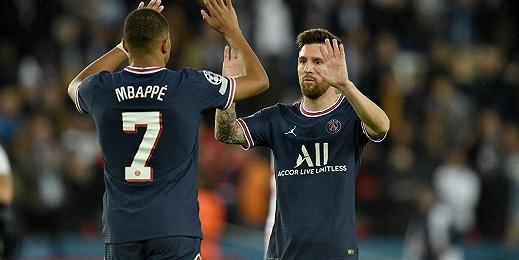 梅西双响刷新纪录,巴黎圣日耳曼连胜仍未摆脱质疑