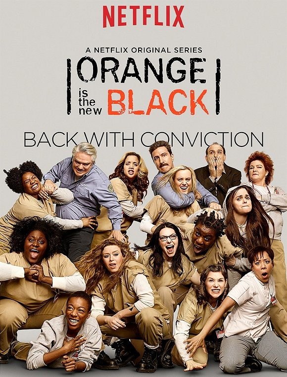 Netflix《女子监狱》海报