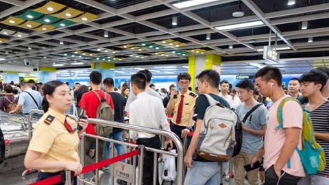 广州地铁今年第三次刷新单日客流纪录