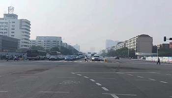 天津地鐵4號線北安橋站動態封圍,再次退路于民