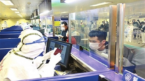 天津机场守好入境第一道防线
