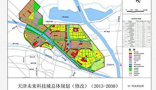 未来科技城,不是随便叫的,全国只有四个,天津这个面积最大!
