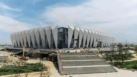 第十四届全运会主场馆西安奥体中心将竣工交付