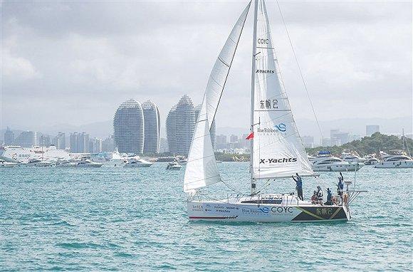 2020环海南岛帆船环保行三亚起航