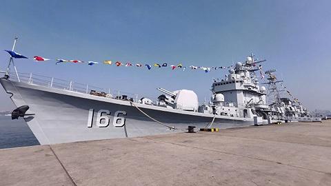 海军退役驱逐舰将落户重庆九龙坡建设码头,变身博物馆