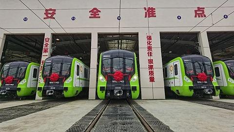 成都地铁计划今年开通7条新线,均已进入空载试运行阶段