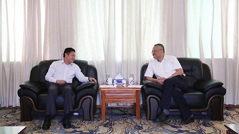 王年生董事长拜会临高县委书记文斌,共谋合作新篇章