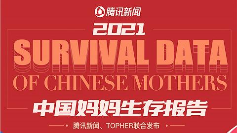 TOPHER、腾讯新闻联合发布《2021年中国妈妈生存报告》:51.2%妈妈不够满意当前生活