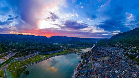 有颜值有气质,重庆又添一个5A景区:黔江濯水